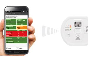 Mit Hilfe einer Smartphone-App können zurückliegende Ereignisse und damit potentielle Gefahren erkannt werden.<br />