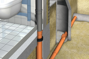 HDK-Bodenelement Abwasseranschluss<br />