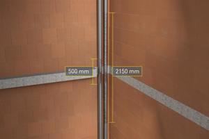 Die alpex-Verbundrohre von Fränkische überzeugen im Brandschutz: Sie müssen bei Deckendurchführungen mit wesentlich geringerem Aufwand abgeschottet werden als Metallrohre, die mehr als vier Mal so viel Dämmung benötigen.<br />