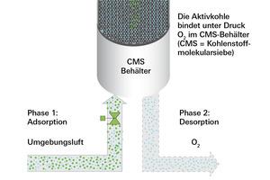 Modelle der Stickstoffgenerierung<br />