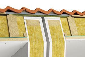 Abbildung 8: Dachanschluss/giebelständige Bebauung – Gebäudeabschlusswände <br />