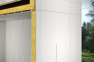 Abbildung 1: Gebäudeabschlusswand (außen)