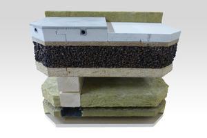 """<div class=""""bildtext"""">NORIT-TE 25 / NORIT-TE 30 Therm GF: NORIT-Fertigteilestriche auf Dämmung mit NORIT-Trockenschüttung auf Holzbalkendecke</div>"""