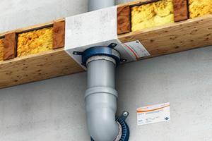 """<div class=""""bildtext"""">Zur sicheren und regelkonformen Abschottungen von Leitungen aller Art können unter anderem Brandschutzmanschetten zum Einsatz kommen</div>"""