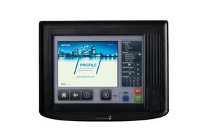 """<div class=""""bildtext"""">Mit RFID-Login und Touchscreen: Das System ist abwärtskompatibel und kann mit bereits installierten MZX-Brandmeldezentralen vernetzt werden. </div>"""
