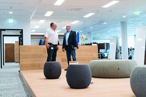 """<div class=""""bildtext"""">Erfolgreiches Projekt: Matthias Walther und Harald Dams sind zufrieden mit den modernen Brandschutzlösungen.</div>"""