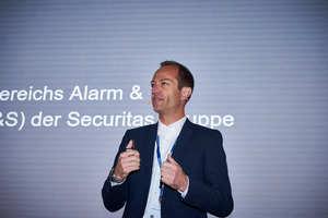 """<div class=""""bildtext"""">Daniel Liechti, Leiter des Bereiches Alarm- und Sicherheitssysteme bei der Securitas Gruppe Schweiz hebt hervor, dass die Securitas Gruppe Schweiz die besten Voraussetzungen für das gemeinsame Wachsen bietet</div>"""