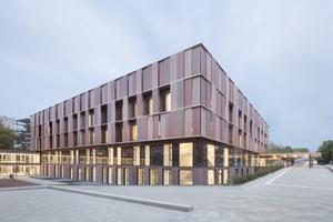 """<div class=""""bildtext"""">Der Neubau des Interdisziplinären Tumorzentrums ITZ in Freiburg</div>"""