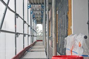 """<div class=""""bildtext"""">2018 begann die energetische Sanierung, bei der Brandschutz oberste Priorität hat.</div>"""