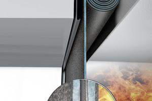 """<div class=""""bildtext"""">Textile Brandschutzvorhänge sind platzsparend und flexibel. Sie können bei geeignetem Aufbau eine hohe isolierende Brandschutzwirkung erzielen. </div>"""