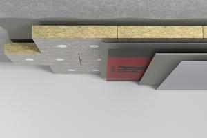 """<div class=""""bildtext"""">Das """"HECK MW A1""""-Dämmsystembietet bietet maximalen Brandschutz für die Kellerdecke.</div>"""