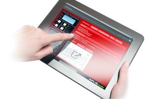 """<div class=""""bildtext"""">Das grafische Informationssystem """"Aplis"""" stellt einsatzrelevante Informationen des Brandmeldesystems auf mobilen Endgeräten und PC-Arbeitsplätzen dar.</div>"""