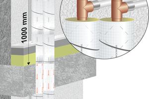"""<div class=""""bildtext"""">Ein Kunststoffrohr, das außerhalb der brandschutztechnisch notwendigen Dämmung einer Ver- oder Entsorgungsleitung aus Metall abzweigt, muss nicht ertüchtigt werden. Diese Auffassung z. B. der Brandschutzexperten der Deutschen Rockwool hat das DIBt nun in der neuen allgemeinen Bauartgenehmigung (aBG) Nr. Z-19.53-2426 bestätigt. </div>"""