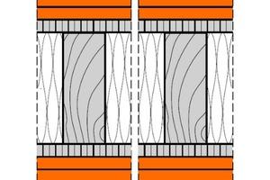 """<div class=""""bildtext"""">Die Brandwand in Holzständerbauweise (""""4HT31""""-fermacell-Brandwand).</div>"""