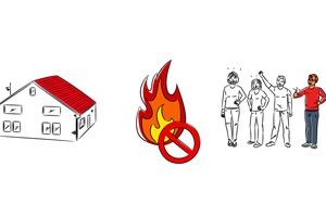 """<span class=""""bildquelle"""">Screenshot aus dem Erklärfilm """"Der AFDD: Schutz vor elektrisch gezündeten Bränden""""</span>"""