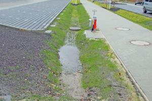 """<div class=""""bildtext"""">Unter dem Fußweg, der von der P+R-Anlage zum Bahnhof führt, ist der bislang größte von GRAF hergestellte Löschwasserbehälter installiert.</div>"""