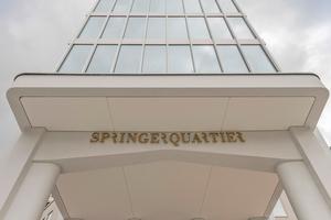 """<div class=""""bildtext"""">Das Axel-Springer-Hochhaus ist der Kopfbau des gesamten Quartiers.</div>"""