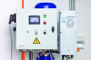 """<div class=""""bildtext"""">Der Frequenzumrichter """"DG1"""" mit integriertem """"Fire Mode"""" ist für den Einsatz in Pumpenanwendungen für Feuerlöschanlagen geeignet.</div>"""
