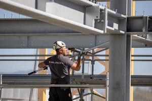 """<div class=""""bildtext"""">Durch die Stahlbauweise wird eine hohe Flexibilität in Bezug auf spätere Umnutzungen erreicht. </div>"""