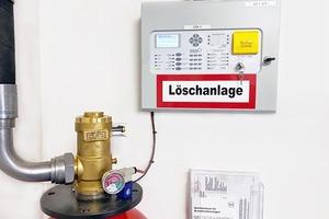 """<div class=""""bildtext"""">Gaslöschanlage mit chemischem Löschmittel Novec.</div>"""