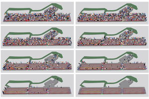 "<div class=""bildtext"">Abbildung 3: Qualitative Darstellung des Räumungsverlaufs zu verschiedenen Zeitpunkten</div>"