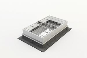 """<div class=""""bildtext"""">Das Produkt- und Serviceangebot von Kingspan Light + Air   ESSMANN umfasst alle Komponenten, die für die effiziente und fachgerechte Sanierung der Oberlichter benötigt werden. Für den direkten Austausch vorhandener Lichtkuppeln stehen vorgefertigte und einfach zu handhabende Systemlösungen zur Verfügung.</div>"""